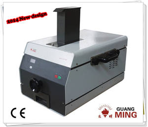 Similar to Retsch small bench top jaw crusher applied laboratory sample preparation for mineral, ore