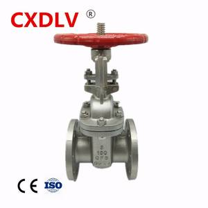 wenzhou factory High quality handle lever CF8/CF8Mcarbon steel flanged gate valve dn100