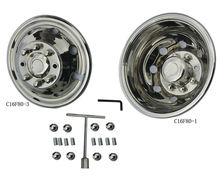 C16F80 wheel accessory, Steel deep wheel cover,Wheel Simulators Set