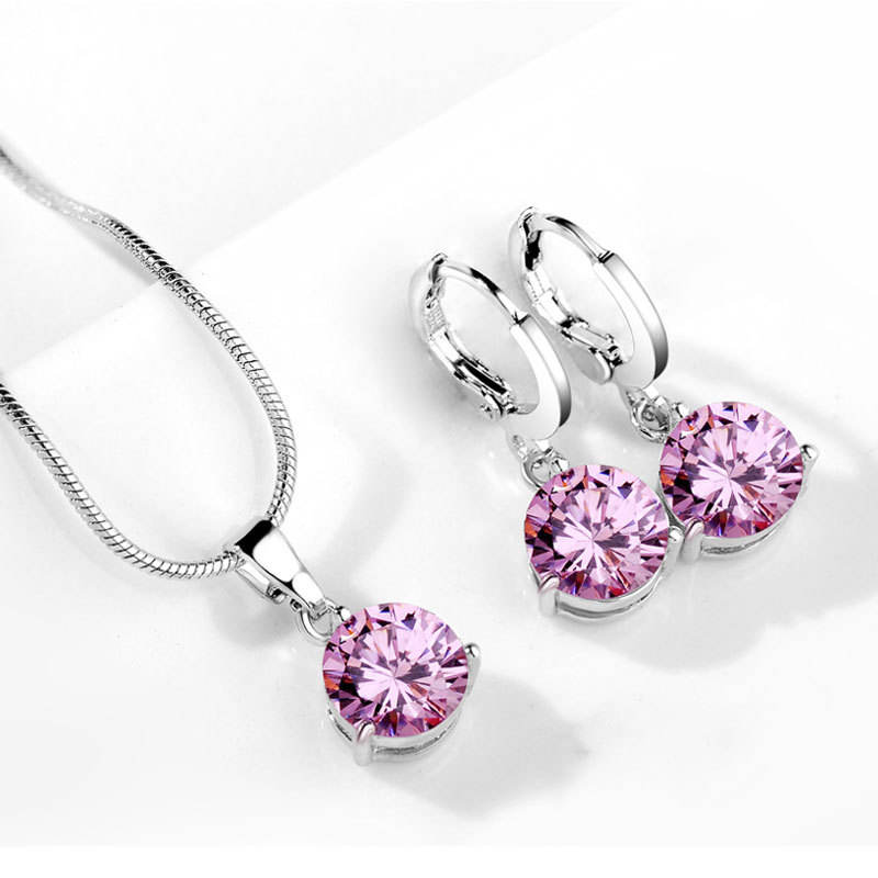 fashionable jewelry,women jewelry set,zirconia jewelry set(EJ0941)