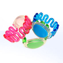 Programmable 13.56MHz RFID Wristband / Swimming Pool Flexible NFC Bracelet Custom Logo
