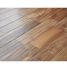 18MM solid acacia flooring hot sale in USA hardwood flooring wholesale price solid wood flooring