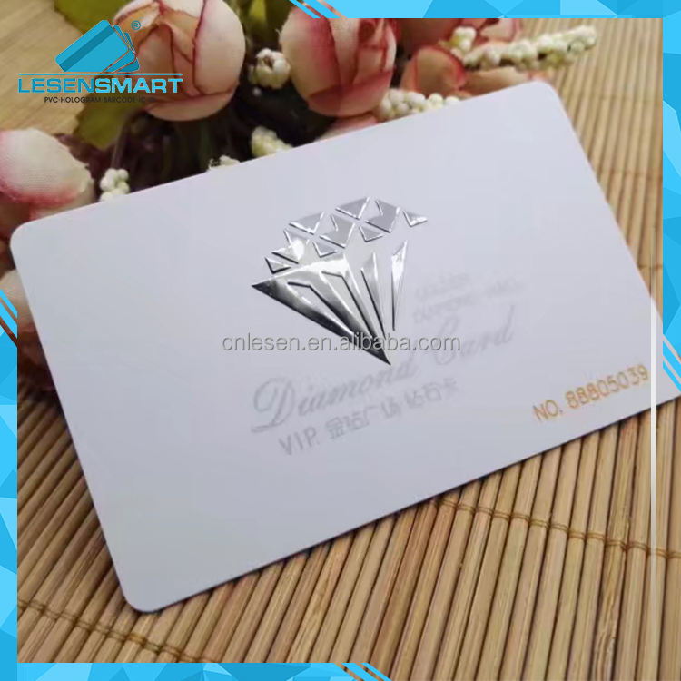 Latest new design spot uv embossed business cards