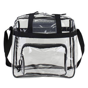 Clear PVC Cross-Body Messenger Schoudertas Transparante handtas