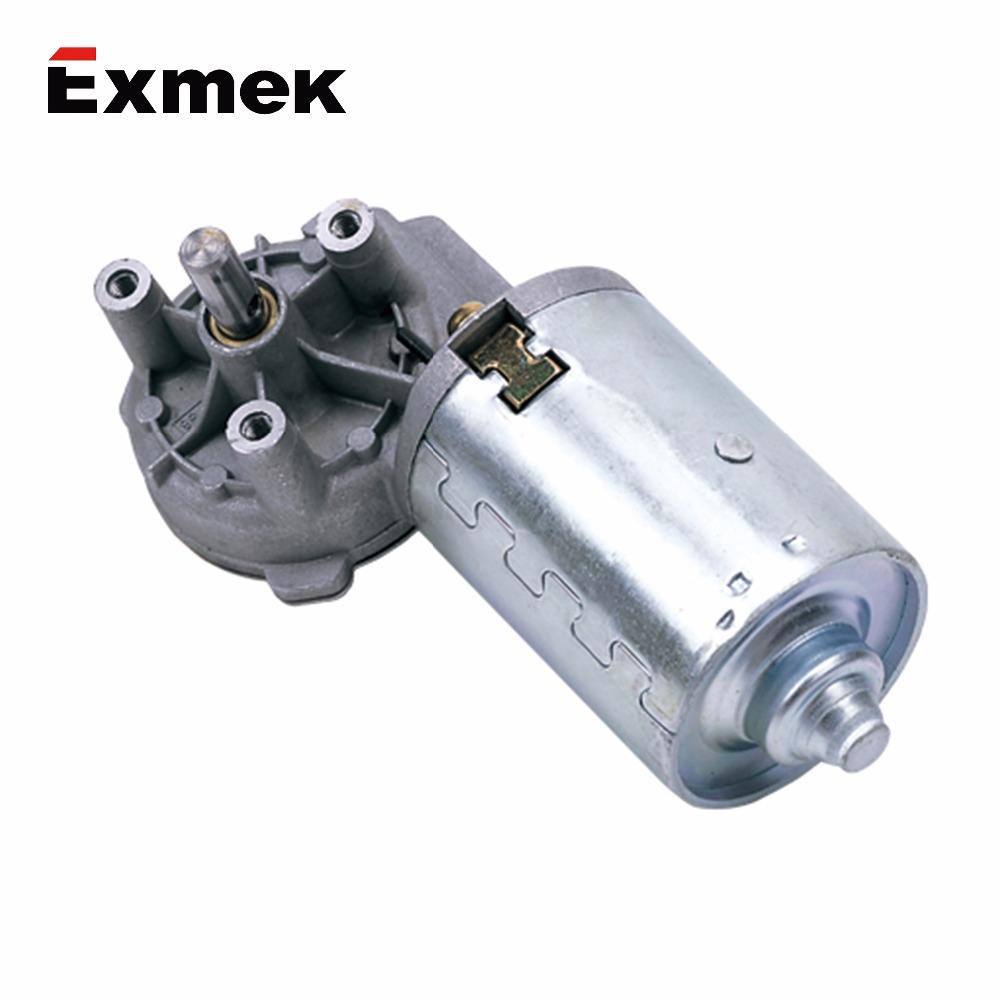 Excellent quality small 12v 350w dc worm gear reducer motor for lift