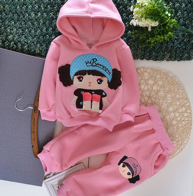 D33625A 2013 KOREA KIDS GIRLS CUTE CLOTHING TWO PIECES SETS