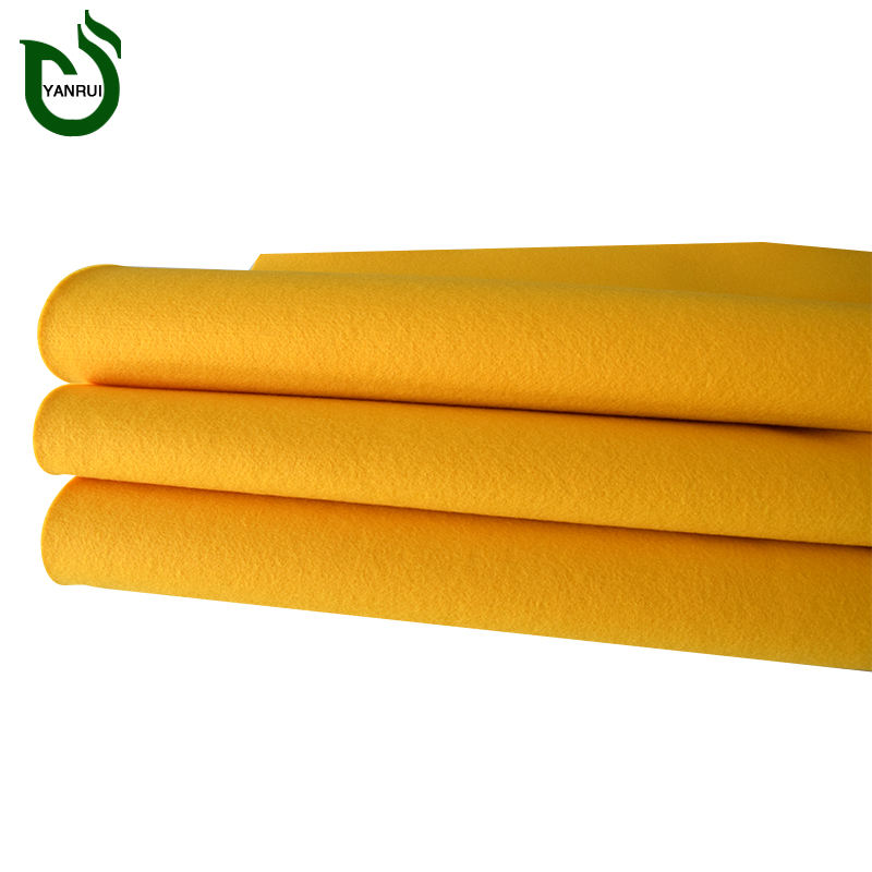 Good supplier soundproofing industrial colours polyester needlepunch nonwoven fabric felt