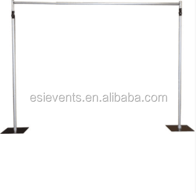 Pipe and drape stand & backdrop for wedding decoration