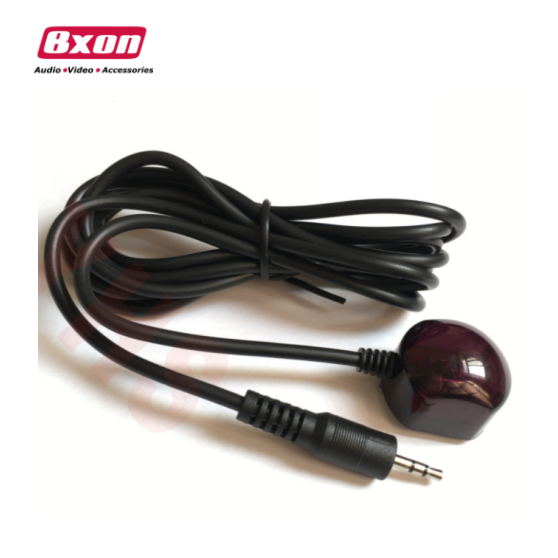 Bxon 1.5m ir receiver extender cable 2.7-5.5v dvi extended cable with 3.5mm plug
