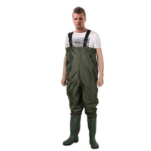 Nylon PVC Coated Waterproof Phishing Waders