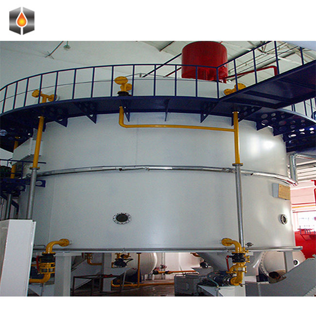 Small Scale Castor Rice Bran Cotton Seeds Oil Processing Solvent Extraction Plant Production Line