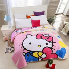 100% polyester quilt with cartoon design for children Summer quilts
