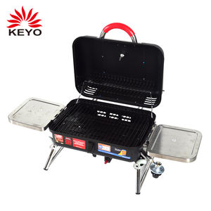 folding sidetable bbq grills small portable camping size foldable legs gas barbecue bbq grill