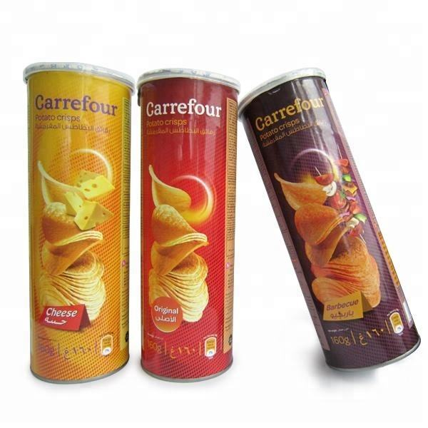 halal snacks Canned packaging OEM potato chips