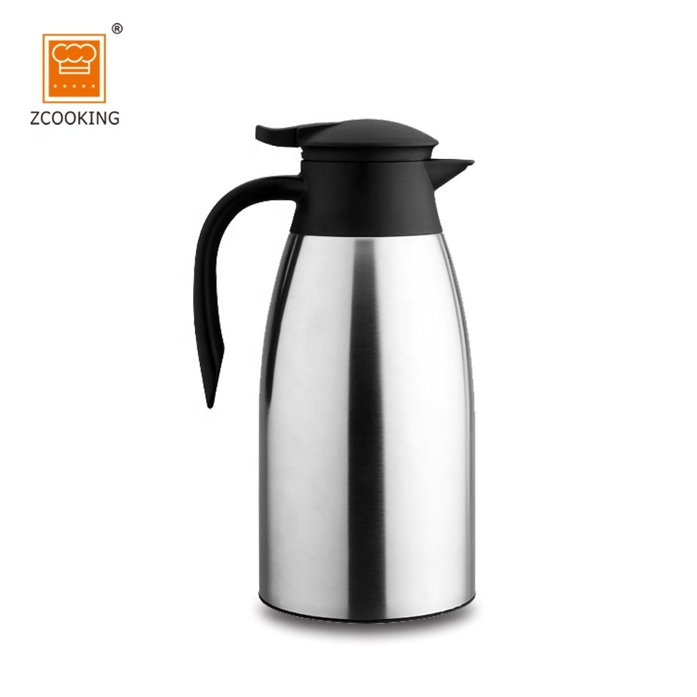 1.5L Stainless Steel Vacuum Coffee Pot With High Quality