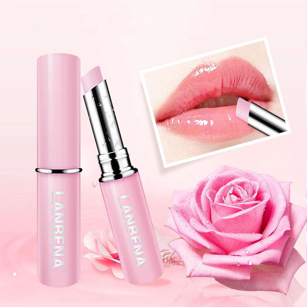 LANBENA розовая роза бальзам для губ палочки для волос бальзам для губ органический