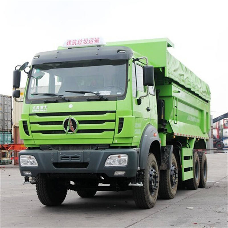 Beiben 8x4 Tipper Trucks China dump truck dealer