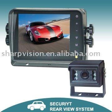 5.6-дюймовый цифровая вид сзади автомобиля монитор с сенсорной кнопки