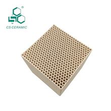 Six sided hole size 4.0 mm 100*100*100 Cordierite honeycomb ceramic