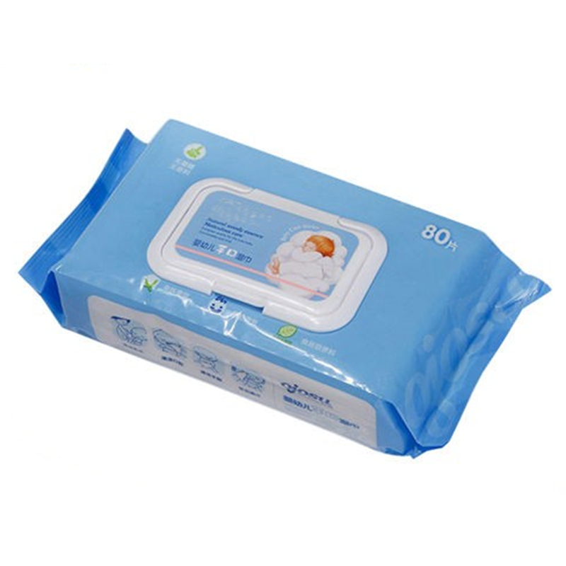 RB4580 Best Eco Friendly Natural Organic Biodegradable Bamboo Fibre Lemon Flavor Baby Wipes For Children Face