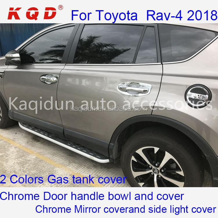 For Toyota RAV4 2009-2012 SUV Chrome Rear Tail Fog Light Lamp Cover Trim RAV4