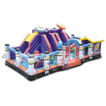 Inflatable Games Inflatable Fun City CH-IF090241B Inflatable Games Cheer
