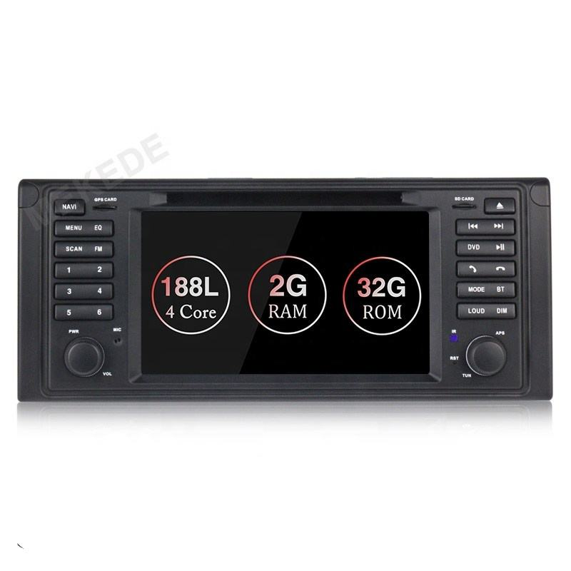 Mekede Auto DVD Player GPS Audio Radio Für BMW 5 Series X5 E53 E39 M5 Android 9,1 Quad Core-Multimedia kopf Einheit 2G <span class=keywords><strong>RAM</strong></span> 32G ROM