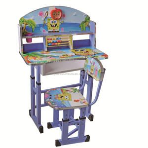 cheap factory price children study table and chair set,kids study table and chair set