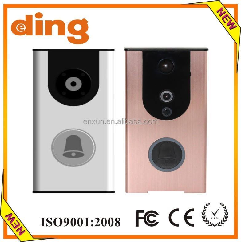 Смарт Wi-Fi ip-видео камеры Дверной Звонок, mobile phone remote response