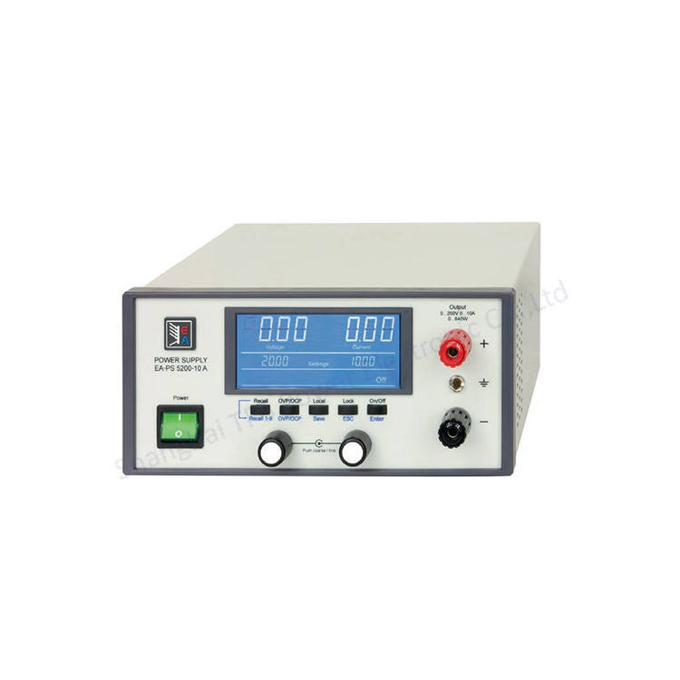 Variable bank netzteil 0 ~ 80vdc/0 ~ 5a 160 w EA-PS 5080-05 EIN