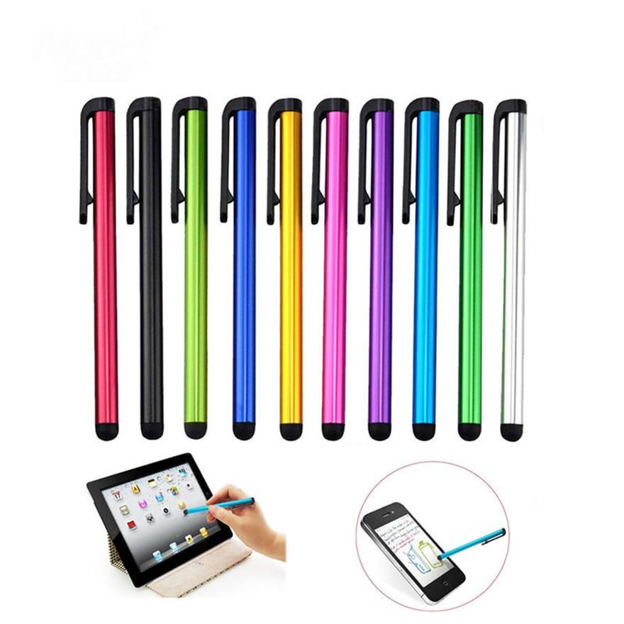 10PCS Luxury Crystal Capacitive Mini Stylus Pen For Mobile Phone Tablet IPad