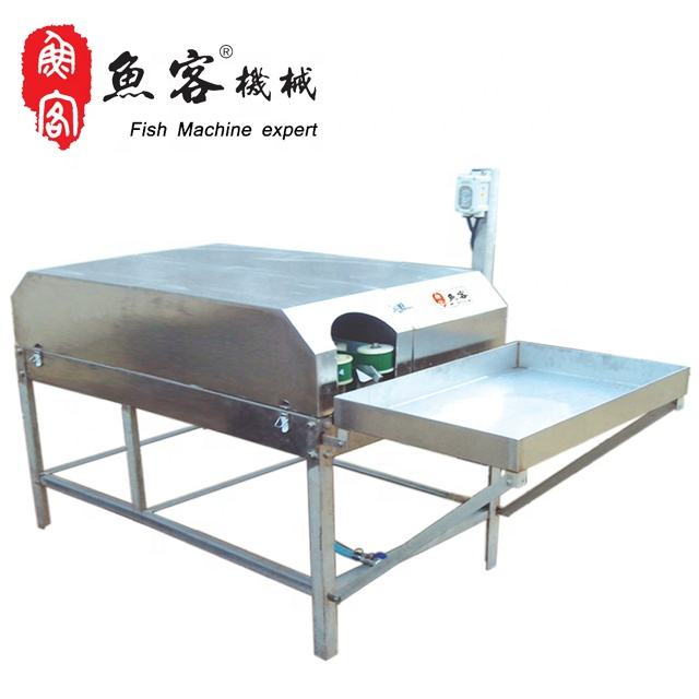 2019 High Efficiency Fish Bone Removing Machine Multifunctional Small Cod Fish Filleting Machine for Make Fish Food Industry