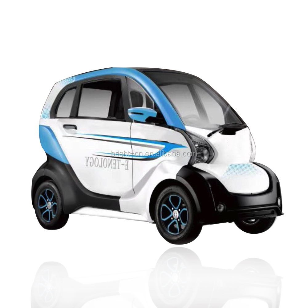 2020 4 wheel 3 seats electric mini moped car electric enclosed mobility car