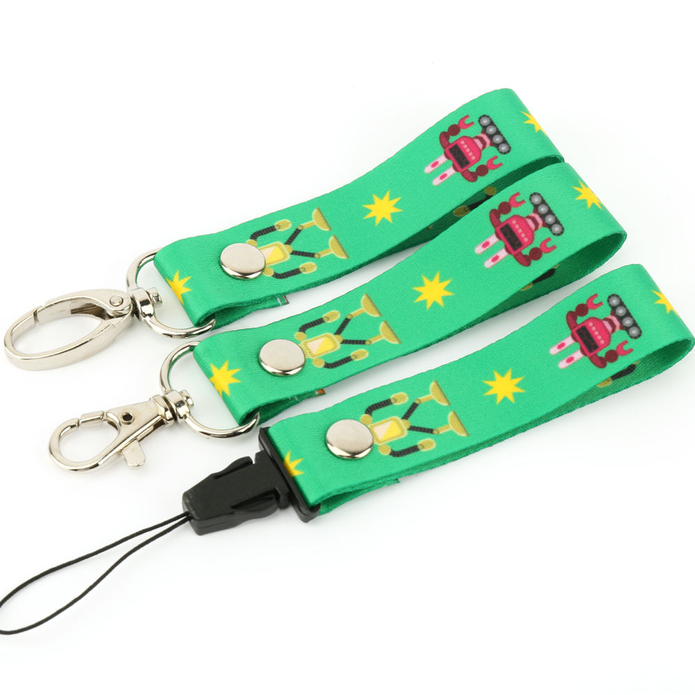 VOGRACE 2019 NO MOQ high quality personalized offset silk printing anime wholesale neck custom printed lanyards