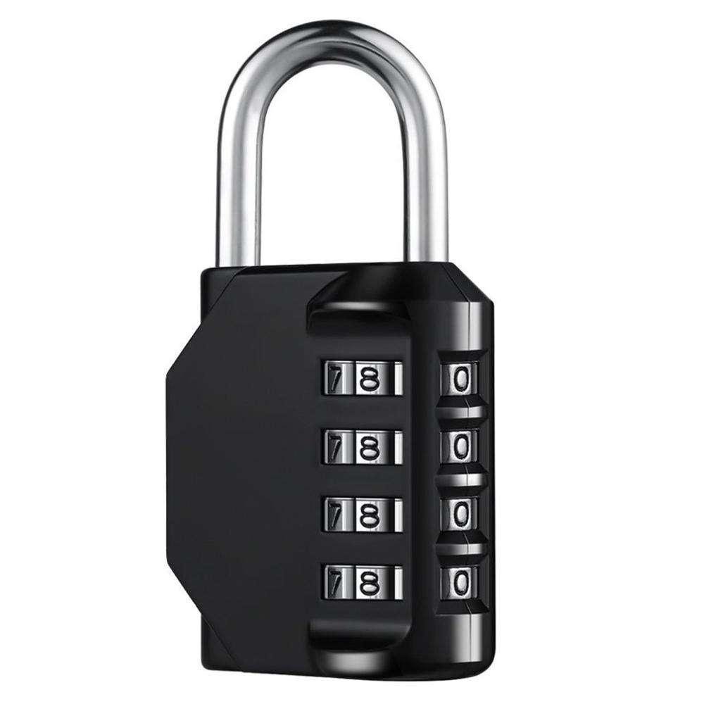 2//4 Pack Combination Lock 4 Digit Padlock for School Gym Locker Luggage Sports