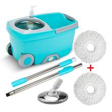New product household cleaning supplies spin 360 magic mop and bucket with wheels