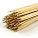 Easily Cleaned Disposable Skewer Bamboo Skewers Disposable BBQ Bamboo Custom Size Wooden Bbq Stick for Grill Skewer