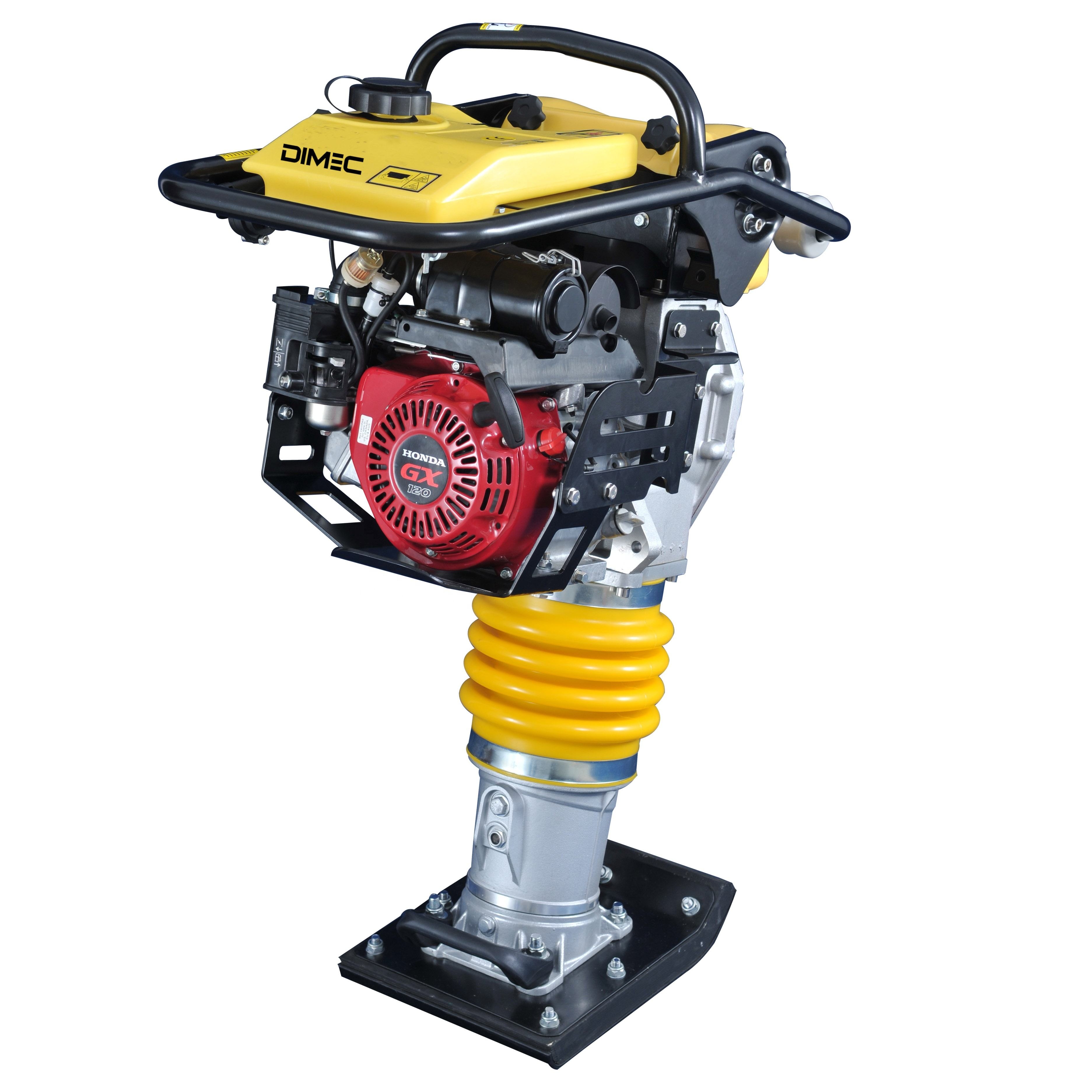 15KN 85KG concrete vibrating earth tamping rammer with gasoline engine price