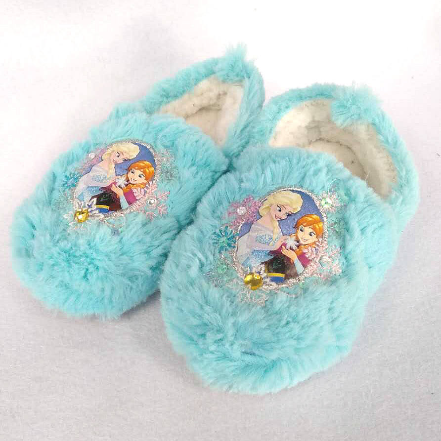 OEM winter ultra soft color unicorn comfortable slippers plush indoor bedroom for modern girl kid