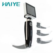 Medical Equipment  CE approval for difficult airway intubation PC disposable blades 3 sizes of video laryngoscope