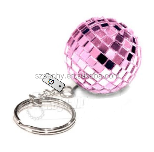 custom disco ball keychain wholesale