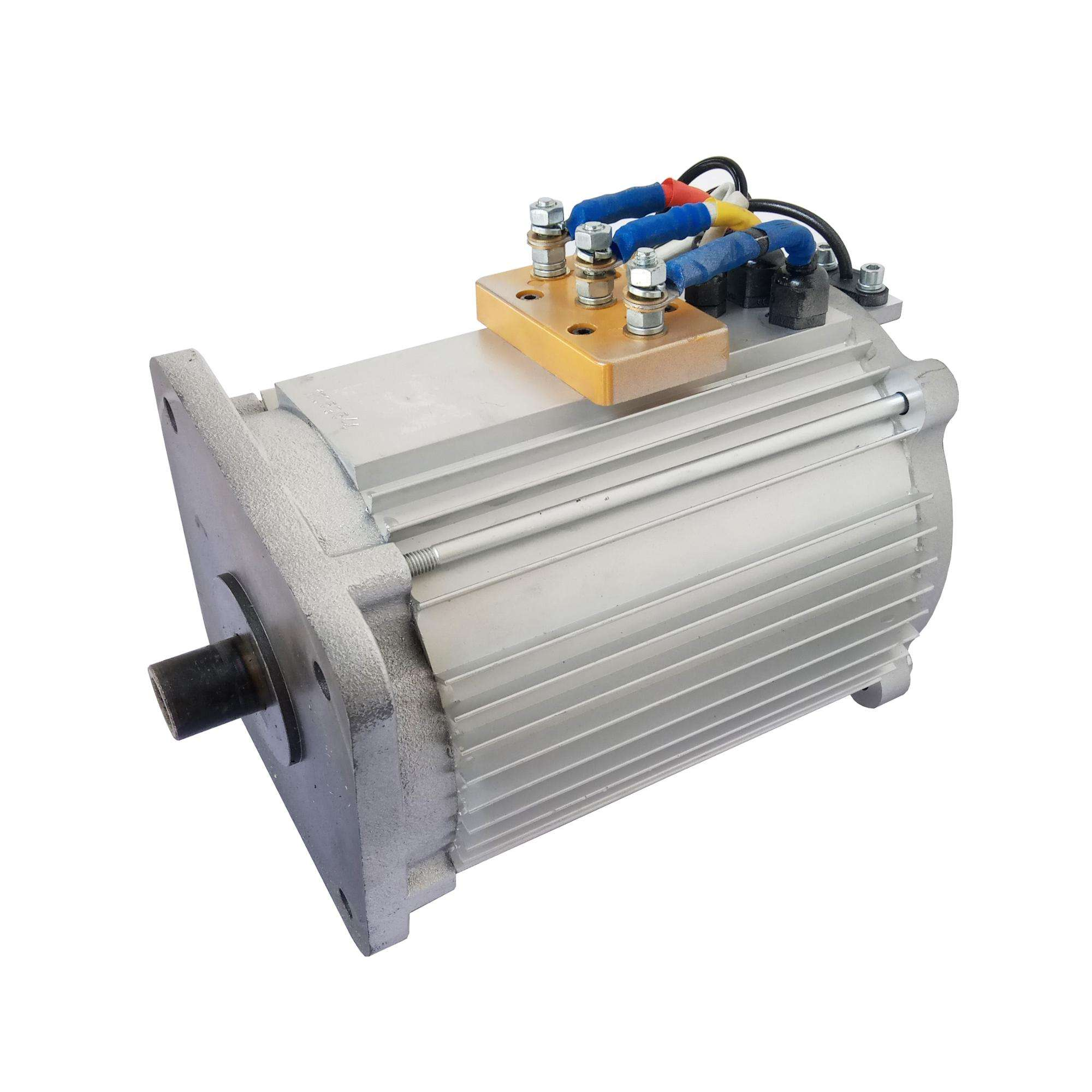 SHINEGLE high efficiency three phase induction motor 96v 15kw engine kit motor controller battery
