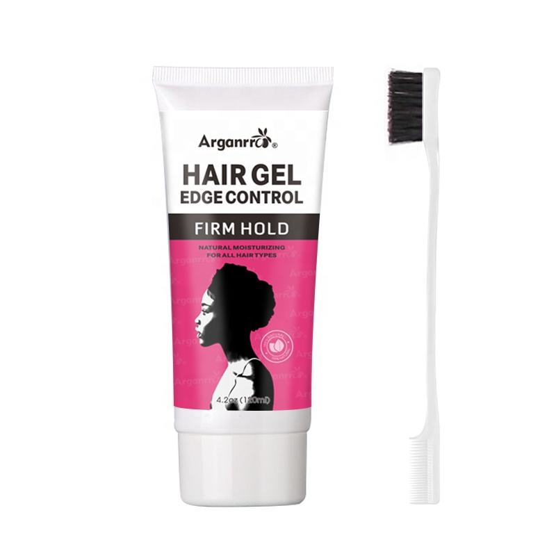 Best hair gel for long natural hair ,Private label hair styling gel fruit smell
