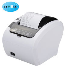 High quality Abundant interfaces ZY306 white POS thermal receipt Bluetooth printer