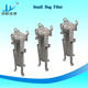 Industrial Water Filter Single Bag Industrial Water Filter Housing/V-clamp Hinged Swing Bolt Hinged Bag and Cartridge Filter Vessel