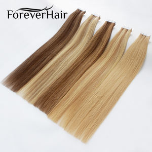 24 hours fast shipping Double Drawn 2g/Piece Brazilian Hair 8 - 40 Inch Remy Tape In Hair Extensions Human Hair
