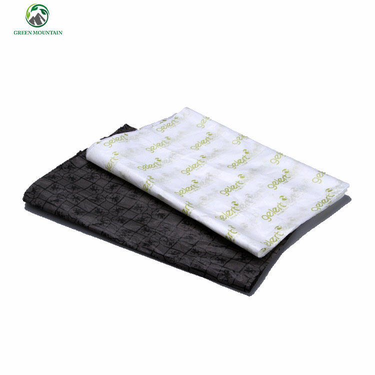 Cheap price offset printing black wrapping tissue paper with custom company logo