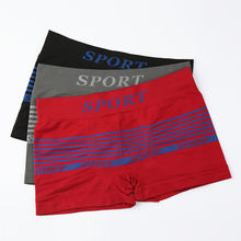custom waist band elastic mens sport boxer briefs boxer shorts for men underwear