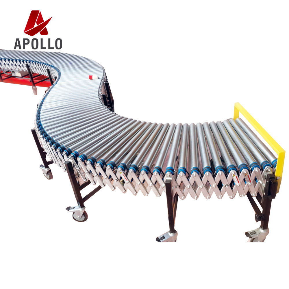 Warehouse Expandable Roller Conveyor equipment