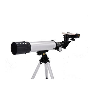 OEM student education monocular mobile phone adapter 50mm toy telescope
